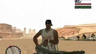 GTA San Andreas Invasão Alienigena