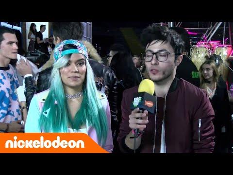 Karol G en los Kids' Choice Awards Colombia 2016 videos