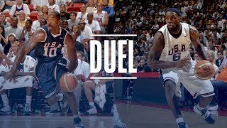 LeBron James & Kobe Bryant EPIC USA Basketball Duel | 2007 Team USA Scrimmage