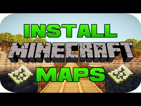 ✔️️How To Download Minecraft Maps On PC 1.13/Any Version