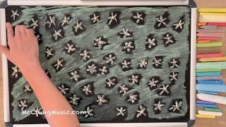 Edelweiss (Sound of Music) ♫ Chalk Art Lullaby