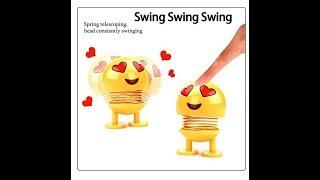 Emoji Spring Doll, Crazy Cute Emoji Bobble Head Dolls