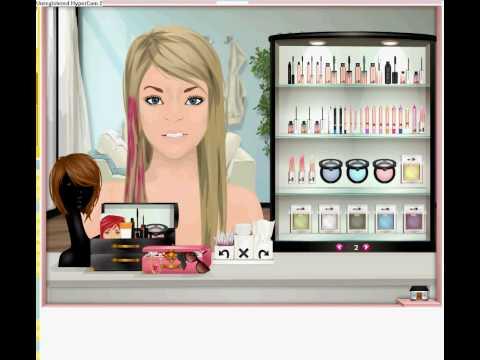 Avril Lavigne Inpsired Makeup