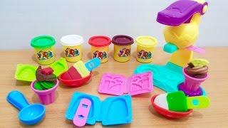 Play doh ice cream - Đồ chơi đất nặn Play doh - Baby Channel