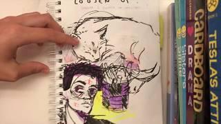 levs shows: my sketchbook tour - [part 2]
