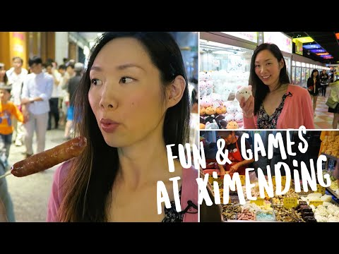 Cool Things To Do at Ximending (西門町)   Taipei, Taiwan Vlog