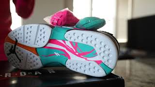 """Air Jordan 8 """"Turbo Green"""" (Dope or Nope) Why not called """"South Beach"""" ?!"""