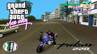Download Gta Vice city Pulsar 220 with Super Power 30000 kg 3Gp Mp4