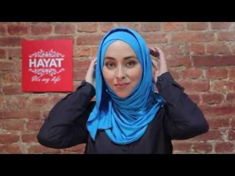 Как надевать готовый хиджаб READY TO GO