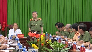 Bộ Công an làm việc với tỉnh Bình Thuận về công tác bảo đảm ANTT