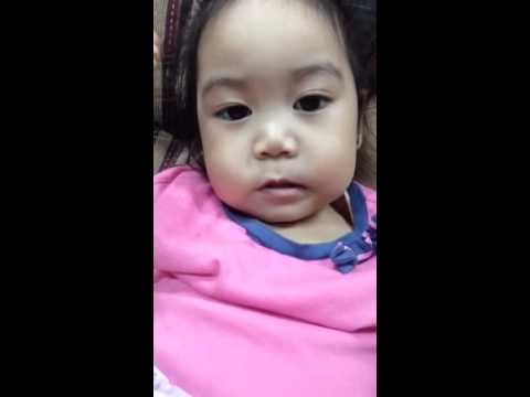 2 Year Old Baby Girl Counts 1-17 Khaycee Bless video