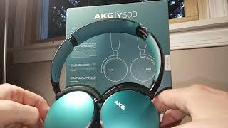 AKG Y500 Bluetooth Headphones Review