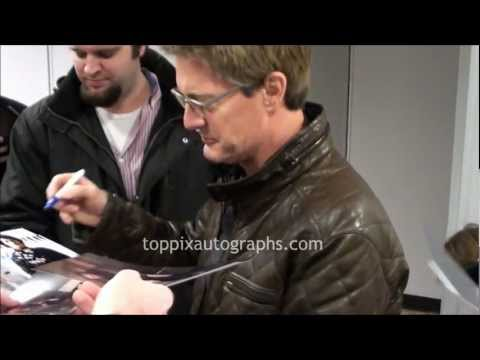 Kyle MacLachlan - Signing Autographs at the 2013 Sundance Film Festival