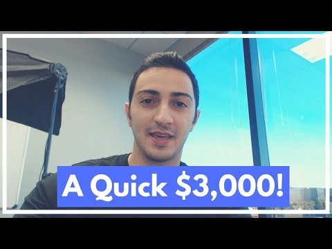 How to Make $3,000 FAST in Affiliate Marketing [Even If You're Broke!]