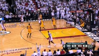 International Play of the Day: LeBron finds Wade!