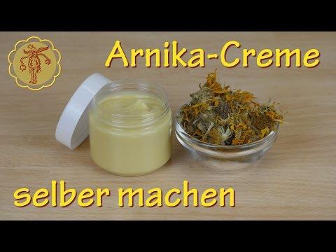 Arnika-Creme selber machen - gegen Verstauchungen