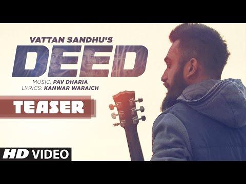 Deed Song Teaser | Vattan Sandhu | Pav Dharia | Releasing 20 November