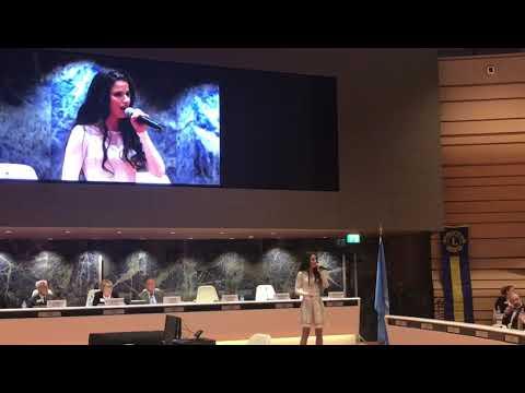 Szilvia Agárdi Performs at LDUN Geneva