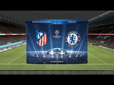 PES 2014 - Atlético de Madrid x Chelsea - UEFA Champions League