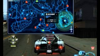 Need For Speed World Drag races Pagani Zonda F