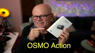 OSMO Action unboxing and discussion