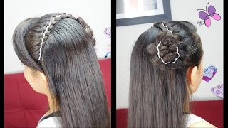 5 Strandided Headband | Girls Hairstyles | Hairstyles for School