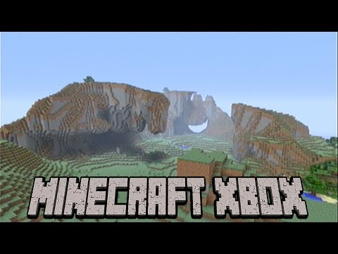 TU14 Seed Of The Week #1 Extreme Hills Biome |Minecraft Xbox|