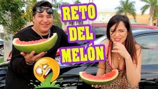 Vomito en Miami... Reto del Melon con SandraCiresArt - Sandia Challenge