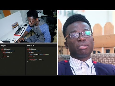 Funmbie TG: Video game developer and music Producer from Nigeria