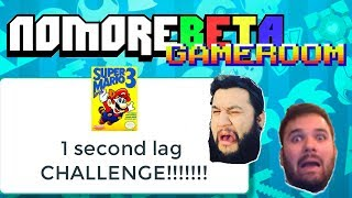1 SECOND LAG SUPER MARIO BROS 3 CHALLENGE!!