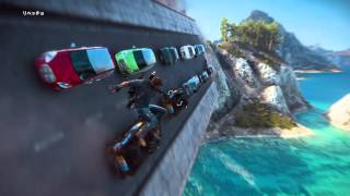 Just Cause 3 The Destruction of the Bridge