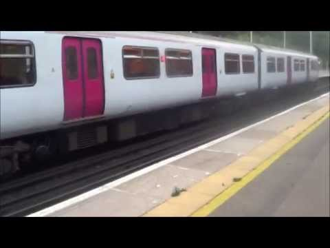 The White re-running white Thameslink train class 319 at Preston Park which had been running before in the 1990's and all of a sudden, it had starting runnin...