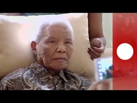 Nelson Mandela est dans un état