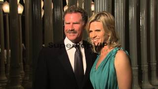 Will Ferrell, Viveca Paulin Ferrell at LACMA Hosts 2012 A...