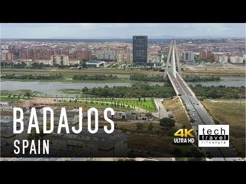 [4K] Badajoz - Spain Drone View