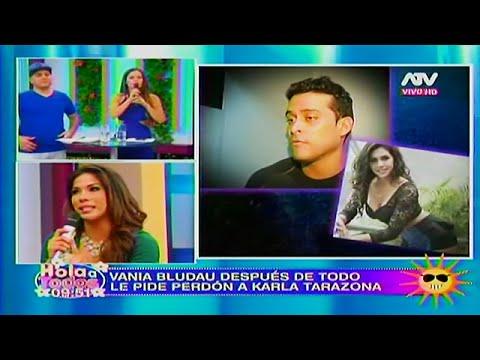 HOLA A TODOS 22/04/16 VANIA LE PIDE PERDÓN A KARLA TARAZONA, PERO ASEGURA QUE DICE LA VERDAD