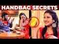 Alya Manasas GLAMOROUS HANDBAG Secrets | Whats Inside the HANDBAG