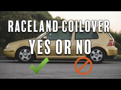 Raceland Coilovers... (My Thoughts)