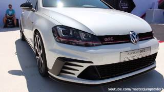 VW Golf GTI Clubsport: more detailed view