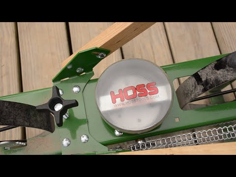How To Assemble the Hoss Tools Garden Seeder
