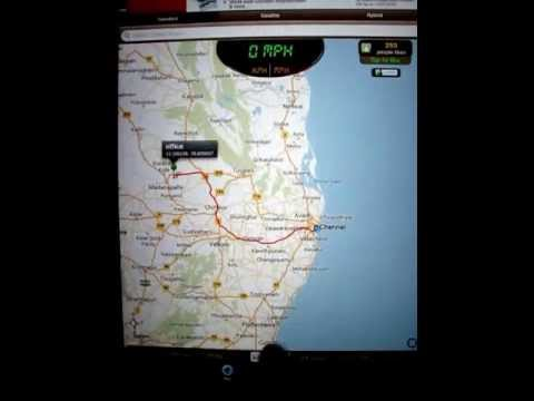 GPS Driving Route - iOS App - How to use it?