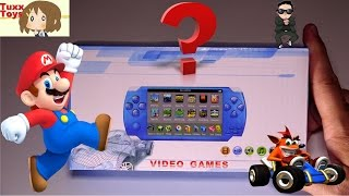 handheld video game mystery unit - Play Nintendo and Sony games all in one unit? Never say never!