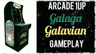 Arcade 1up Galaga / Galaxian Gameplay