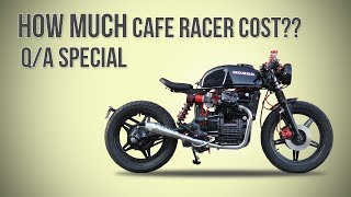 How to Cafe Racer - 50K subscribers special Question & Answer video