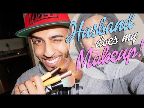 TAG: Husband Does My Makeup! @WaseemStark