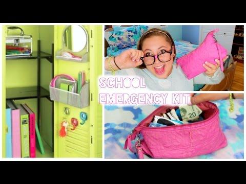 Back To School: Locker Organization & School Survival Kit!