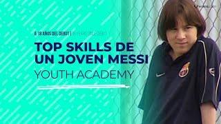 A 18 años del debut de Messi con la camiseta blaugrana