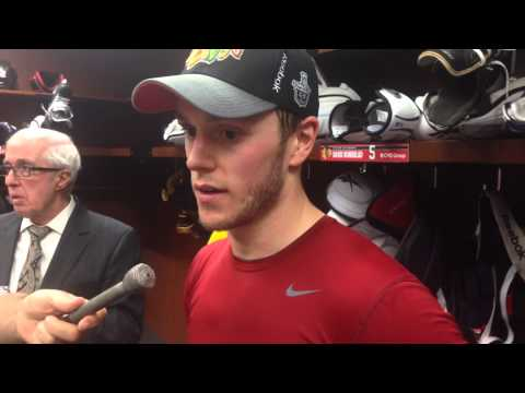 Jonathan Toews Talks About Getting His personal Confidence Going In Blachawks 2-0 Win video