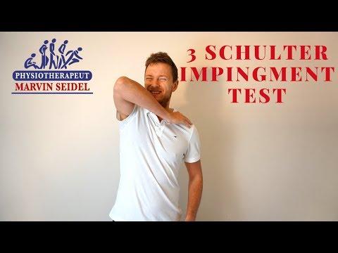 Impingement - 3 Impingement Syndrom Test für Zuhause bei Schulterschmerzen!