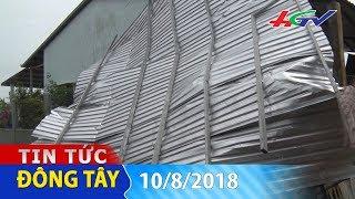 Lốc xoáy khủng khiếp hút nhà chồng lên nhau | TIN TỨC ĐÔNG TÂY – 10/8/2018